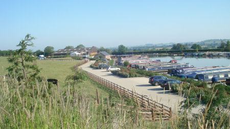 Heyford Fields Marina - between Bugbrooke and Nether Heyford, Northampton