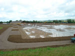 Heyford Fields Marina under construction - click to enlarge